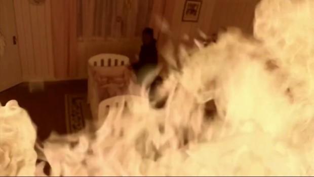 Кто из героинь «Сверхъестественного» был в пламени под потолком?