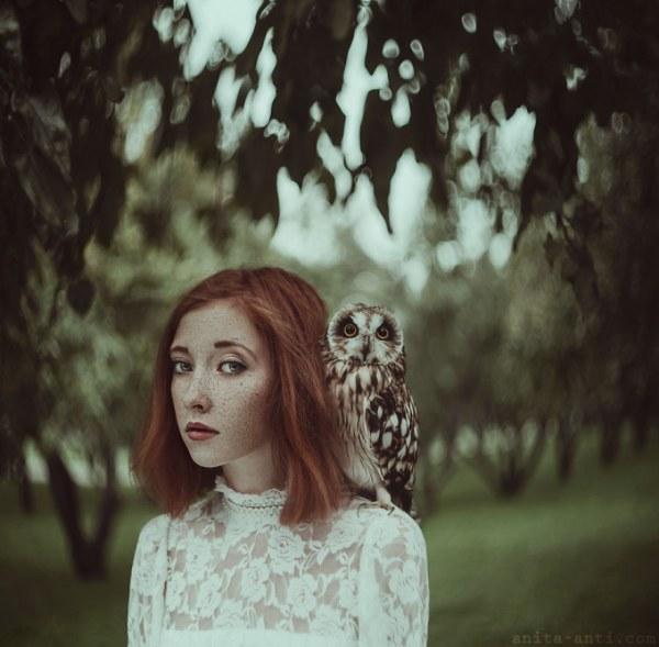 Магические портреты девушек и животных