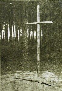 Могилы русских солдат, погибших в боях.
