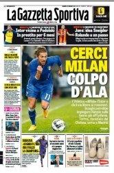 Журнал La Gazzetta dello Sport  (28 dicembre 2014)