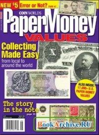 Книга Paper Money Values (August 2008).