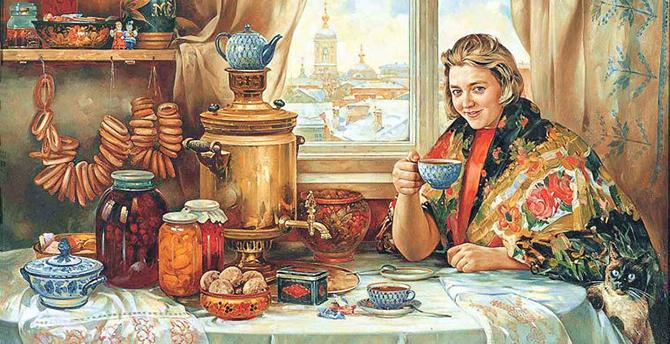 Русские вещи за бугром