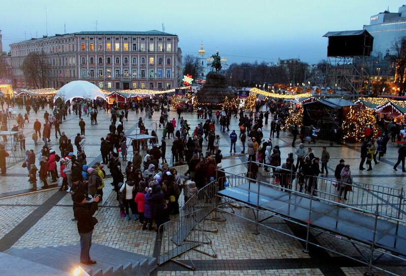 Праздничная Софиевская площадь