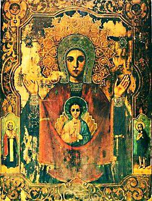 Абалакская икона Божией Матери Знамение