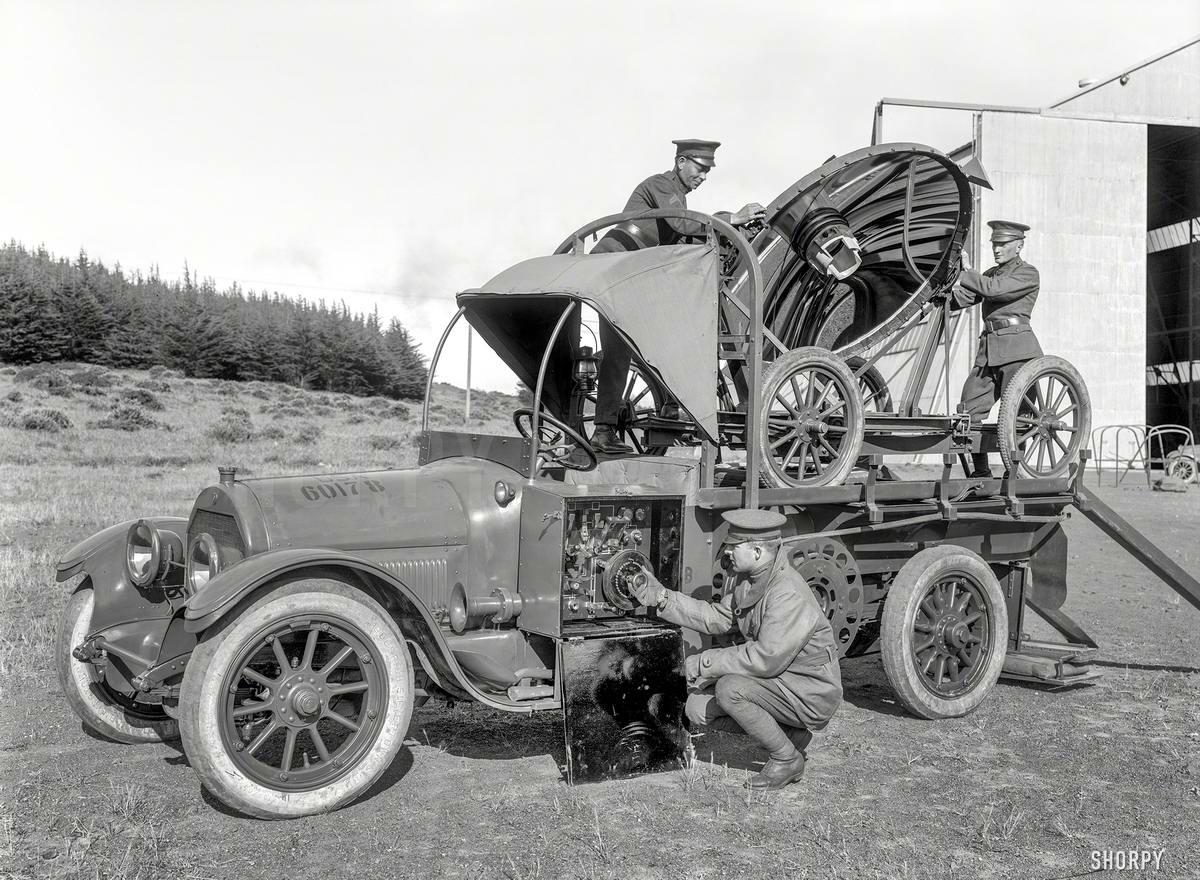 Специализированные транспортные средства начала 20-го века на снимках американских фотографов (33)