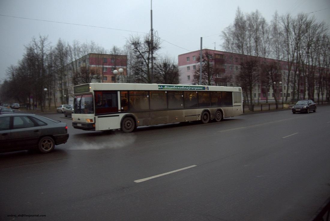 Автобус в Новополоцке, Беларусь.