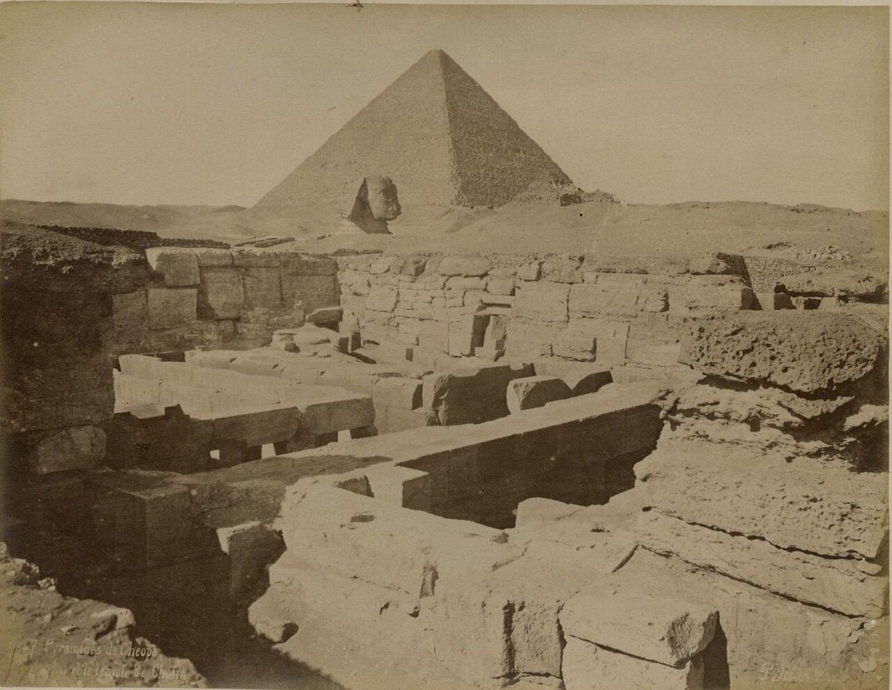 Гиза. Пирамида Хеопса и Храм Хафра