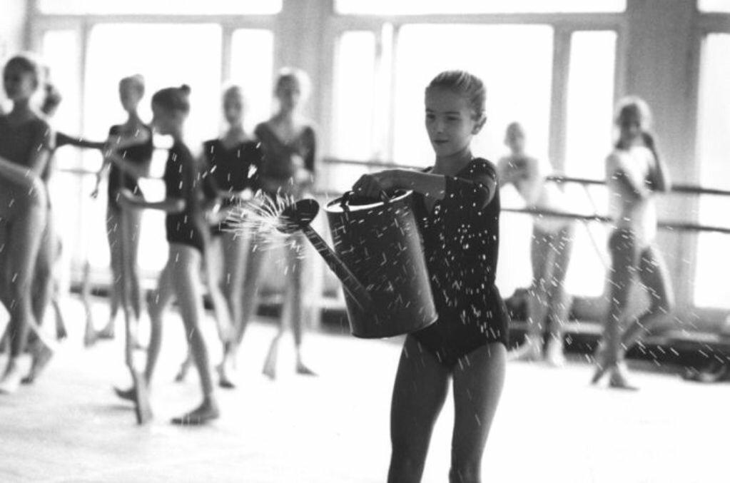 1970-е. Киевское балетное училище.