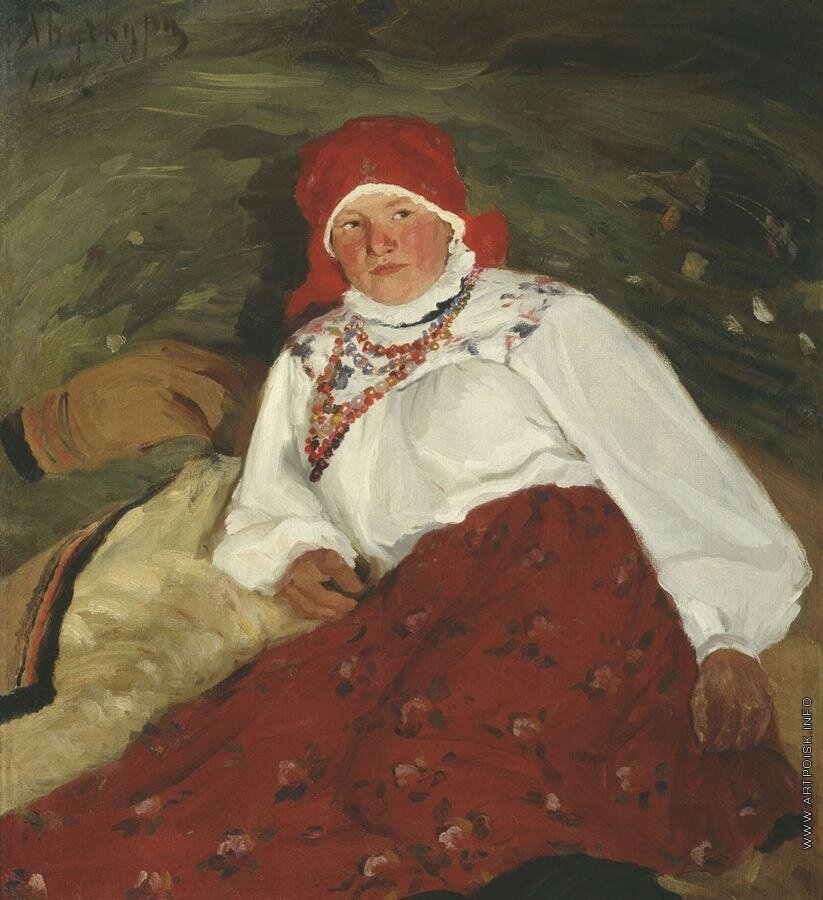 Баба. 1909 Бучкури Александр Алексеевич (1870-1942)