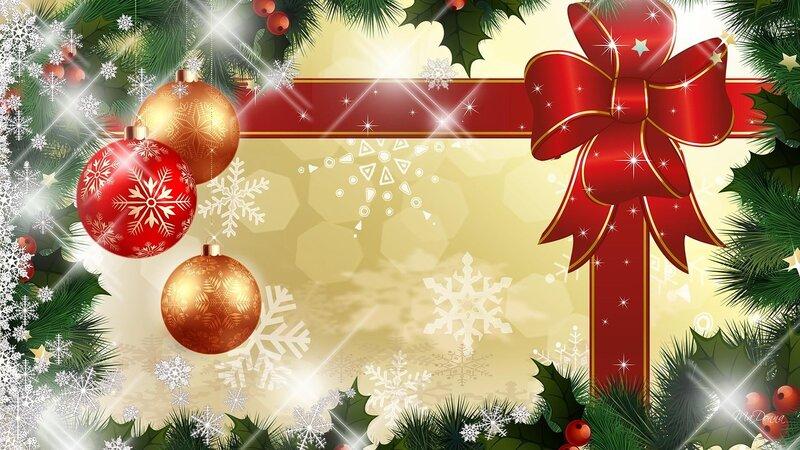 Поздравления, фоны рождественские открытки