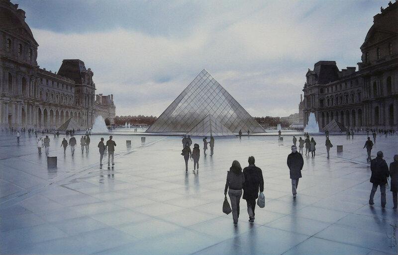 Songe sur la Pyramide du Louvre