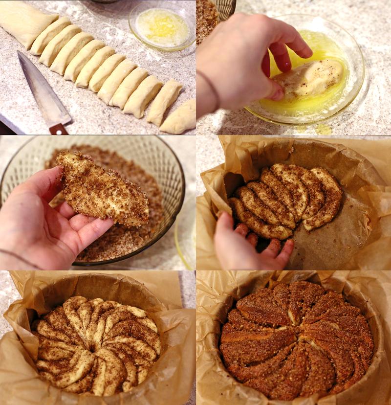 Ореховый пирог - пошаговый рецепт с фото #3.