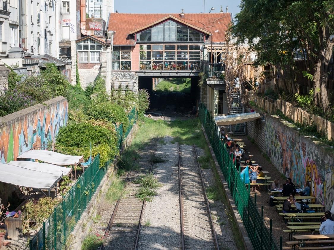 Заброшенная железная дорога в Париже Париж,Франция