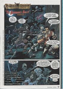 "Комикс ""Пираты Карибского моря"" ""The Buccaneer's Hert!"""