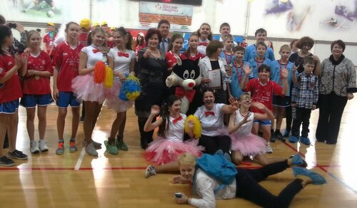 Весёлые старты в Протвино