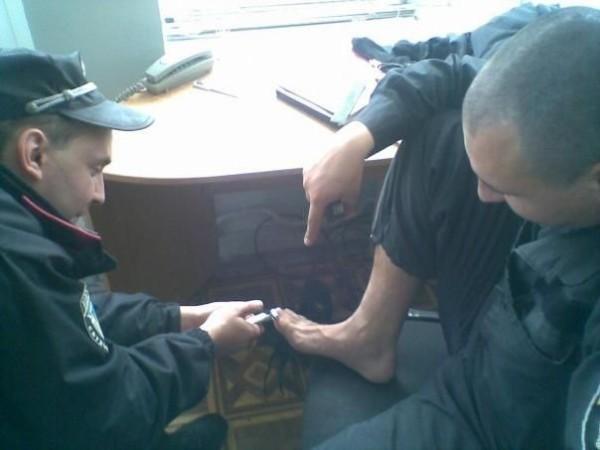 Украинские милиционеры в соцсетях