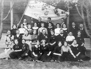 Один из 8 нарвских смешанных эстонских хоров. 1912