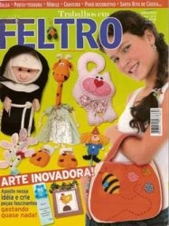 Журнал Trabalhos em Feltro №3