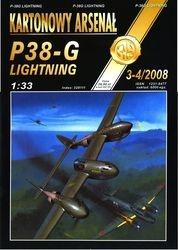 Журнал Журнал P38-G Lighting Veltro-Halinski Kartonowy Arsenal (3-4`2008)