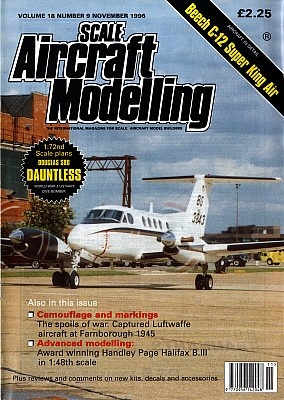 Журнал Scale Aircraft Modelling - Vol 18 No 09