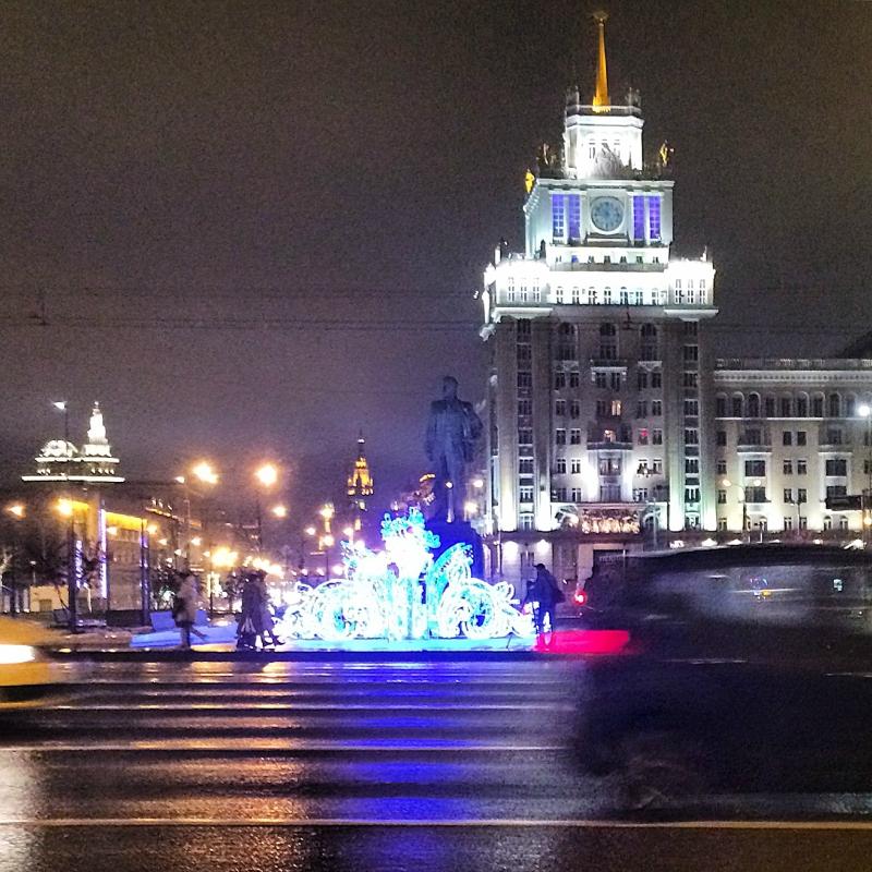 Новогодняя Тверская