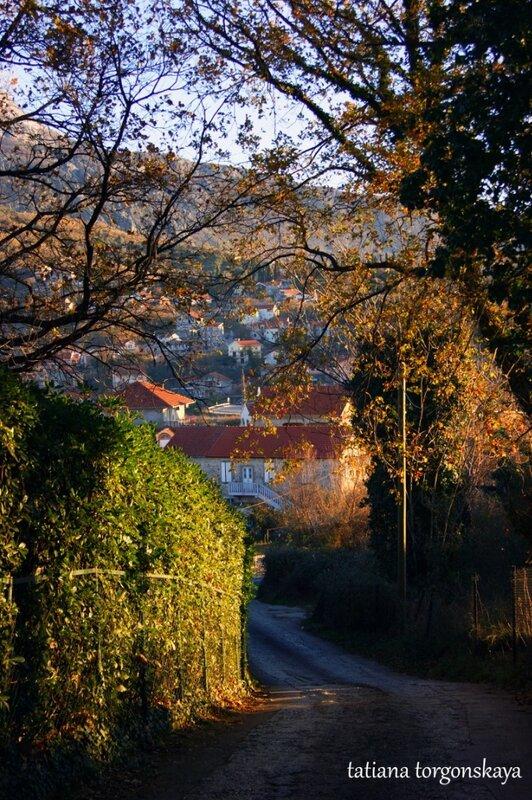 Дорога к крепости Шпаньола, србина