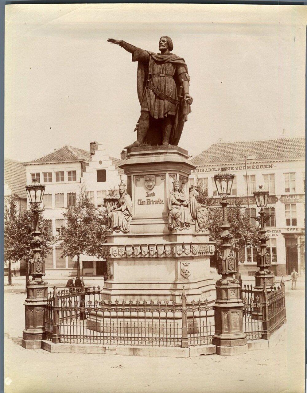 Гент. Статуя Якоба ван Артевельде