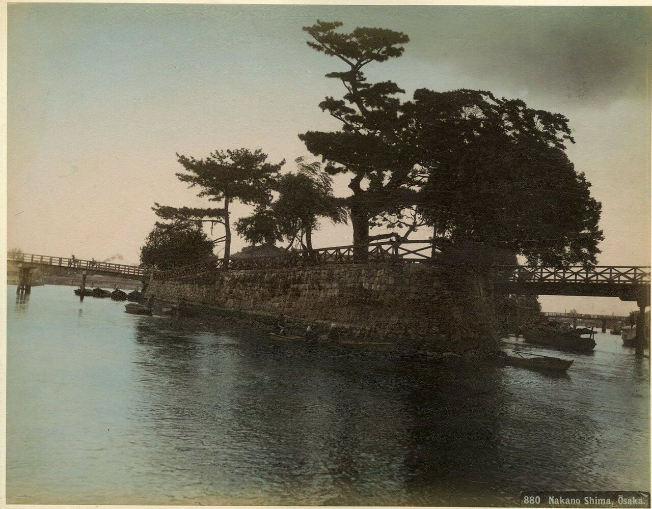 Осака. Накано-Шима