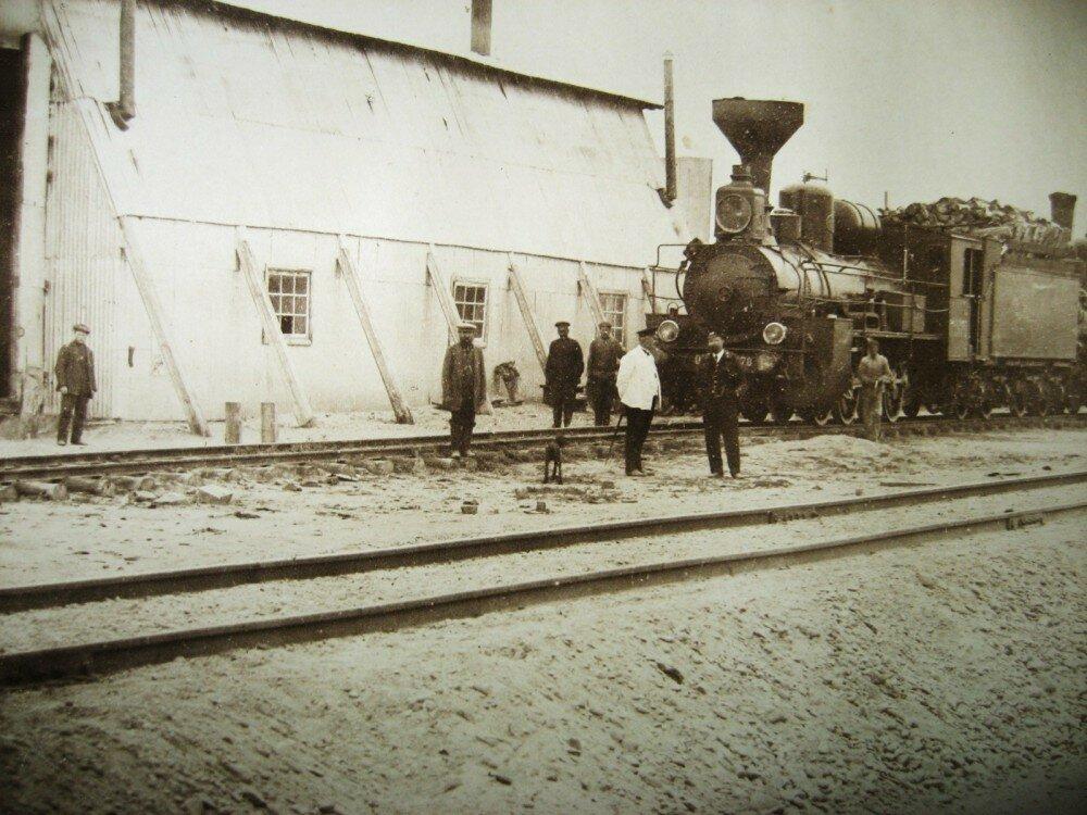 08. Станция Алексеевск. Паровозное депо