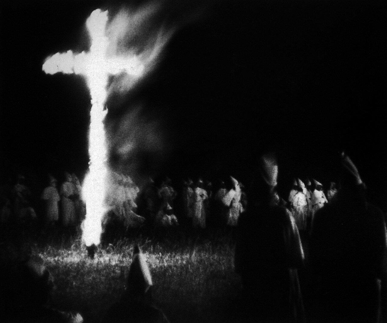 1950-1954. Сходка Ку-клукс-клана в Южной Каролине
