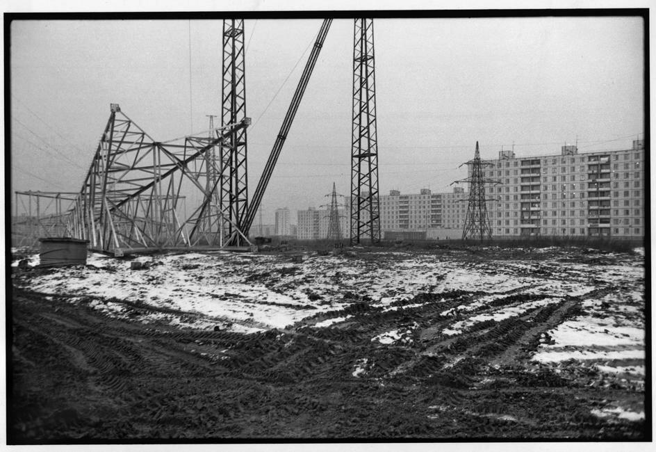 1972. Москва. Тушино