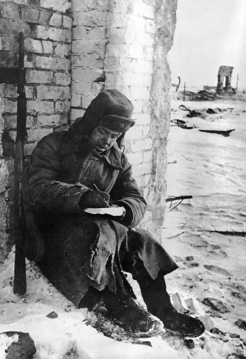 1943. Письмо домой. Сталинград