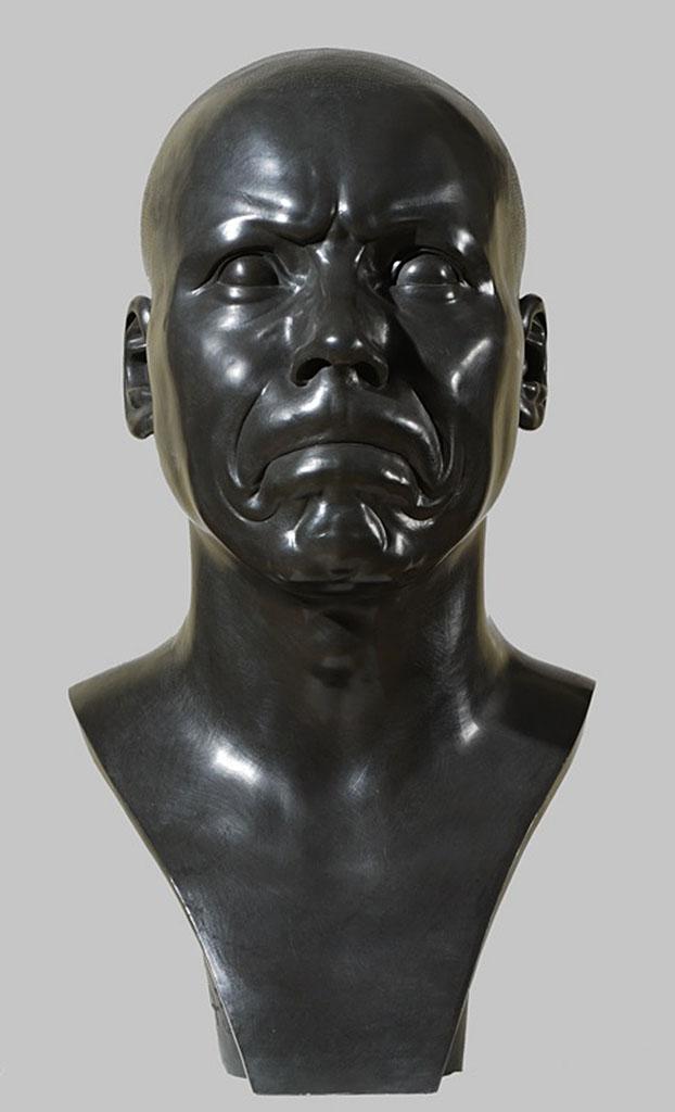 Характерная голова. Franz Xaver Messerschmidt (1736-1783)