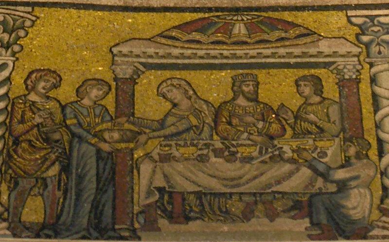 Mosaici_del_battistero,_san_giovanni_battista_14_Salomè_presenta_la_testa_del_Battista_al_banchetto.jpg