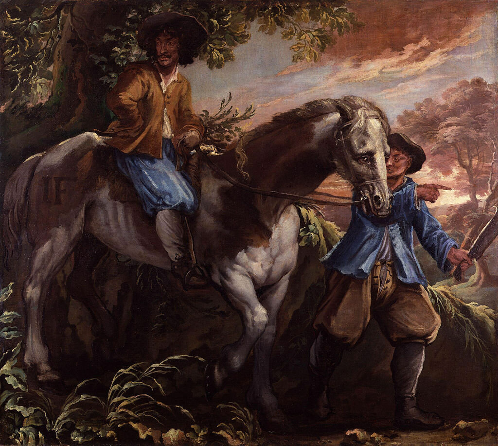 King_Charles_II_on_Humphrey_Penderel's_Mill_Horse_by_Isaac_Fuller.jpg