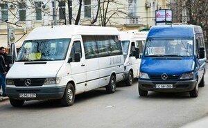 В Кишиневе микроавтобусам могут изменить протяженность пути