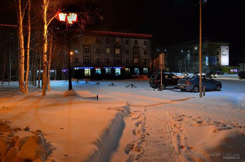 Фото города Инта №7383  Кирова 38 и 29 23.12.2014_18:13