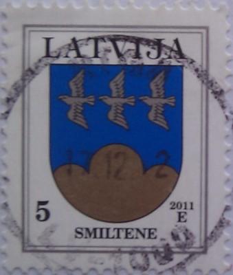 латвия 2011 герб 5