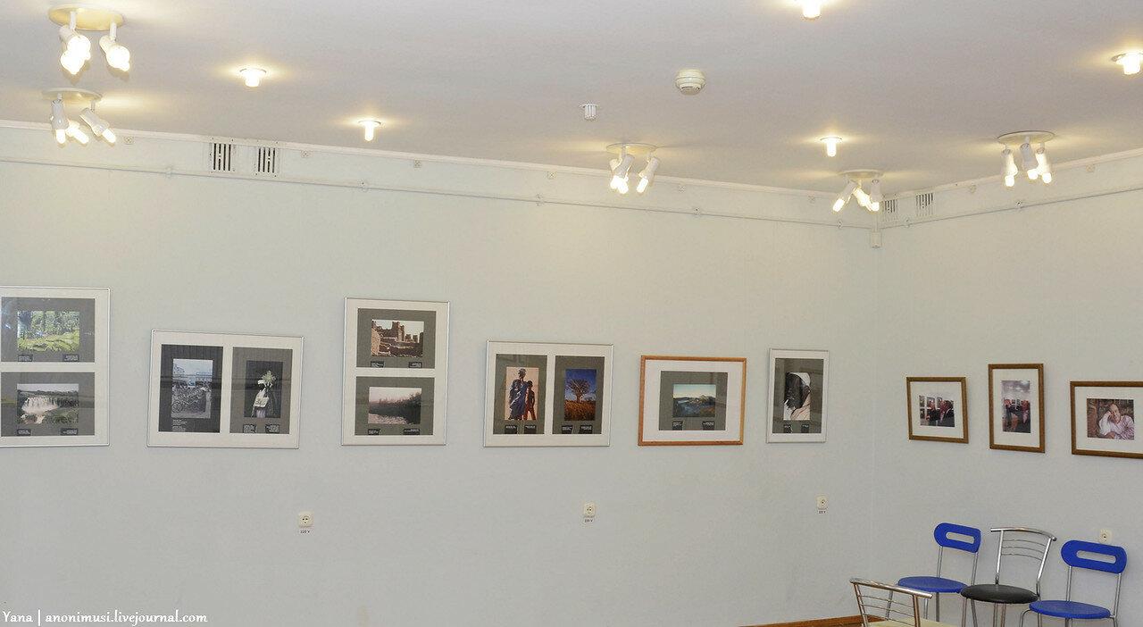 Выставка фоторабот Мишеля Рено в Гомеле
