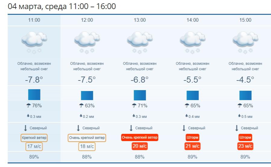 Примпогода - Прогноз погоды во Владивостоке на сегодня подробно  почасам .png