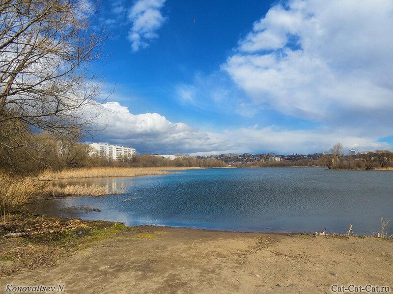 Красивые облака над Свиягой, Ульяновск
