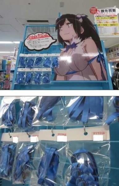 аксессуары анимэ в продаже япония