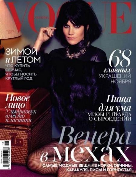 Книга Журнал: Vogue №11 (ноябрь 2014 / Украина)