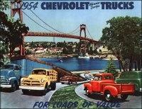 Книга 1954 Chevrolet Advance-Design Trucks. For Loads of Value.