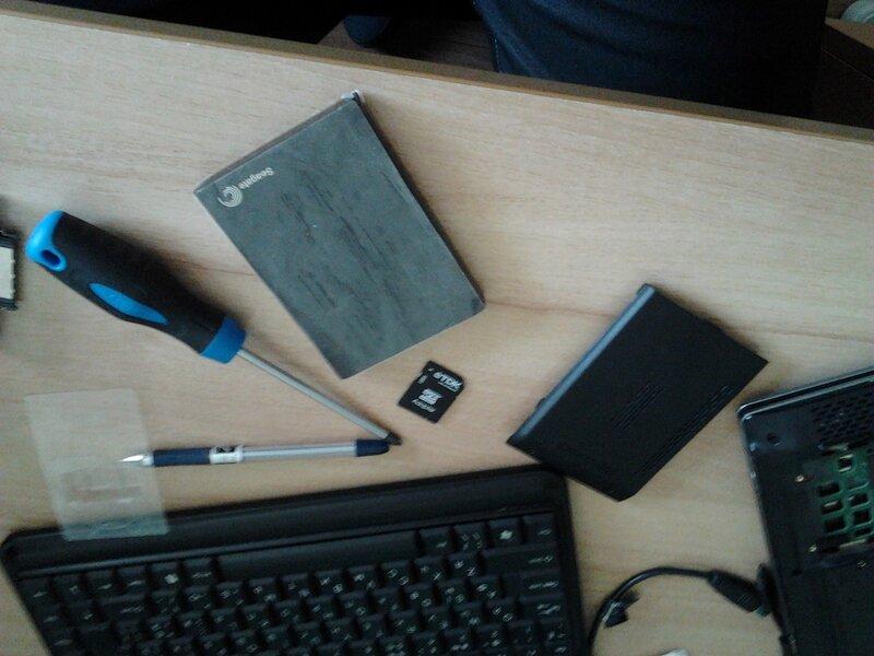 Замена винчестера на ноутбуке