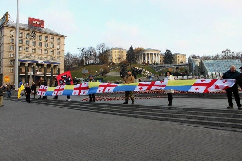 Граждане Грузии устроили флешмоб за безвизовый режим для Украины - Цензор.НЕТ 189