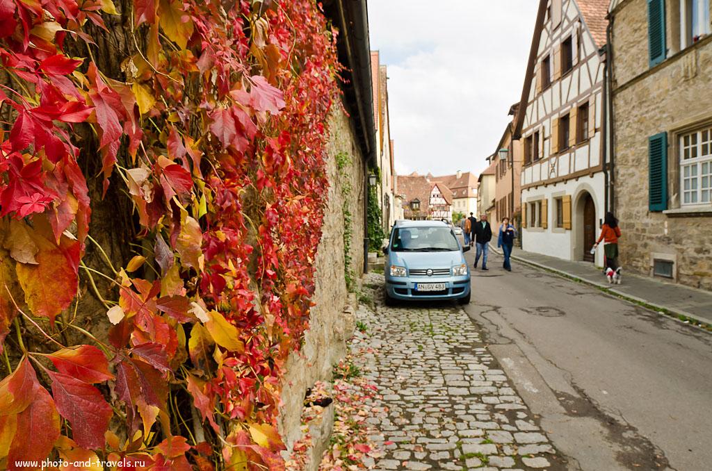 27. Улочки города Rothenburg ob der Tauber