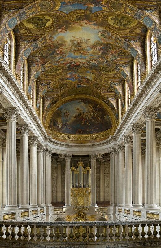 Часовня Версальского дворца