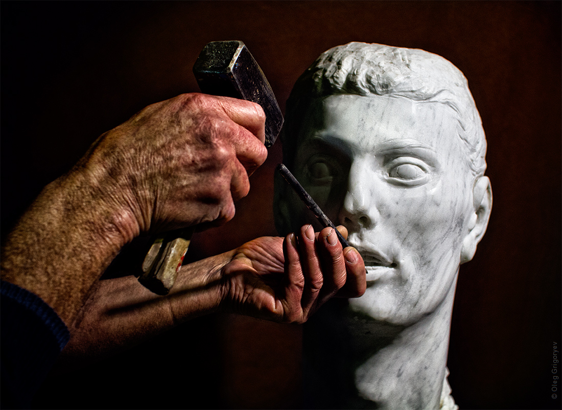 руки скульптура
