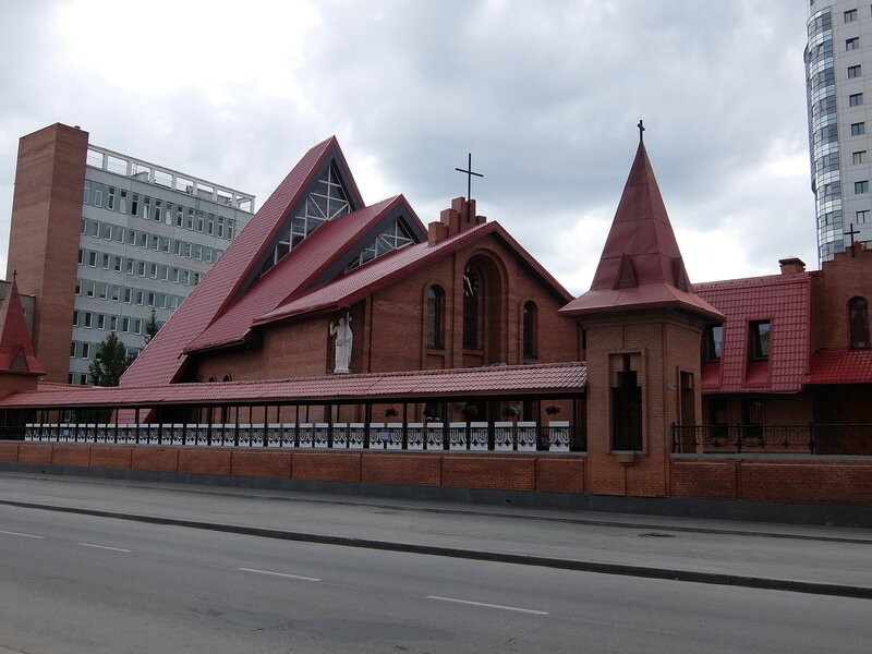 Новосибирск - Католический Кафедральный собор Преображения Господня